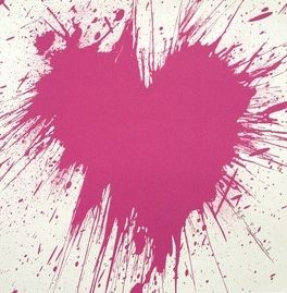 Screenprint Mr. Brainwash - Love Splash