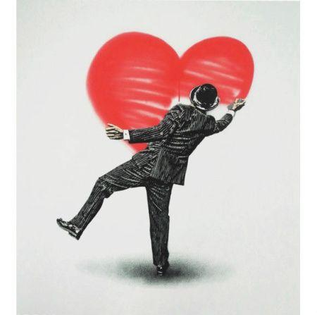 Screenprint Walker - Love Vandal