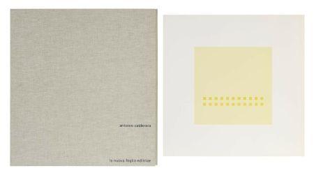 Screenprint Calderara - Luce spazio immagine (Cartella di 8 serigrafie)