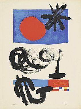 Lithograph Miró -