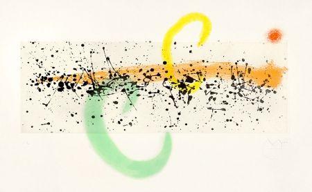 Aquatint Miró - Lune et Vent (Moon and Wind), 1963
