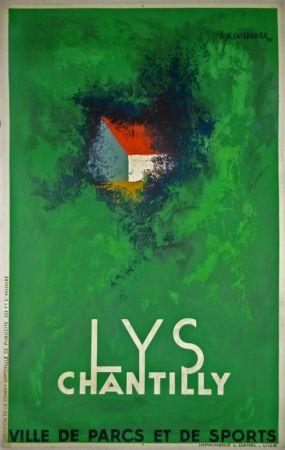 Lithograph Cassandre - Lys Chantilly