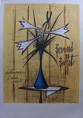 Lithograph Buffet - Lys et Iris