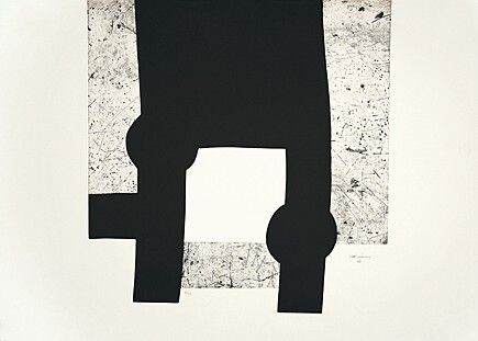 Etching And Aquatint Chillida -