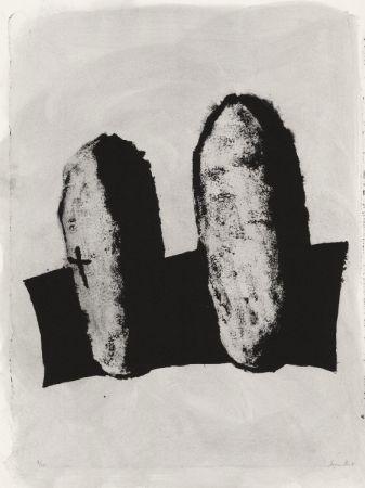 Lithograph Le Groumellec - Mégalithes