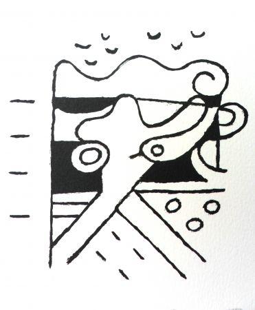 Lithograph Bille - M 111
