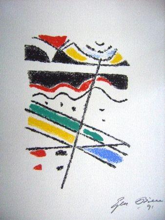 Lithograph Bille - M 113