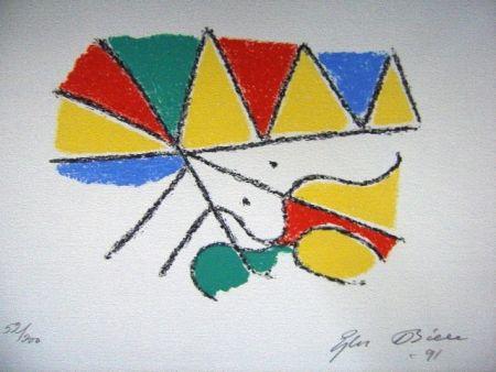 Lithograph Bille - M 115