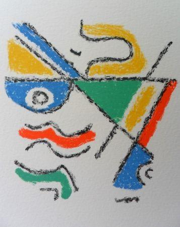 Lithograph Bille - M 122