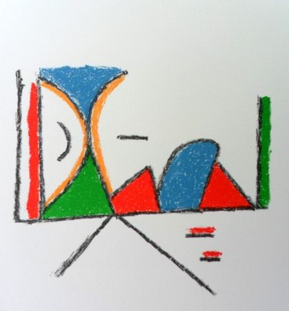 Lithograph Bille - M 132