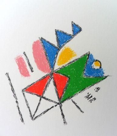 Lithograph Bille - M 134