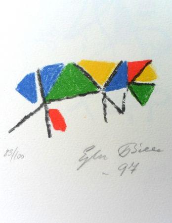 Lithograph Bille - M 139