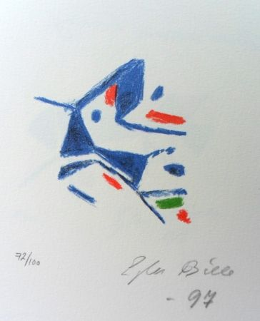 Lithograph Bille - M 140