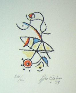 Lithograph Bille - M 86