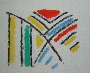 Lithograph Bille - M 92