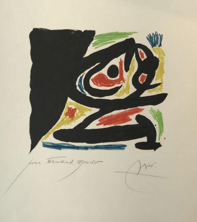 Lithograph Miró - Maîtres-Graveurs Contemporains