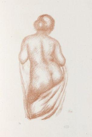 Lithograph Maillol - Maîtres et petits maîtres d'aujourd'hui.  Aristide Maillol, Sculpteur et Lithographe.