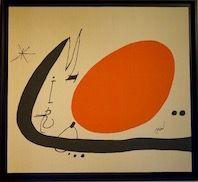 Lithograph Miró - Ma de Proverbis