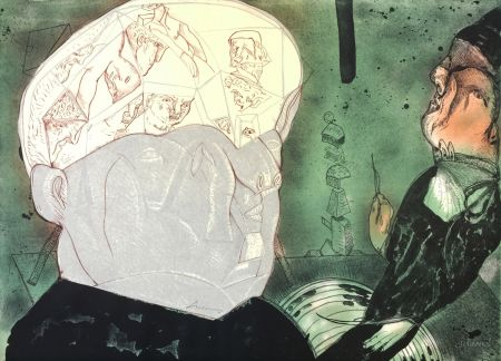 Lithograph Cuevas - MACBETH