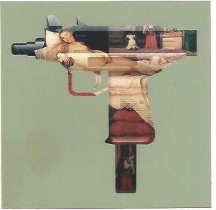 Screenprint Gjoen - Machine Gun Venus