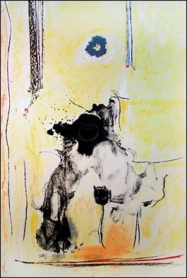 Lithograph Frankenthaler - Madame de Pompadour (1985-90)