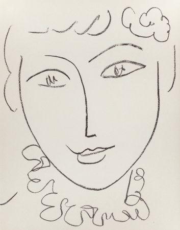 Lithograph Matisse - Madame Pompadour