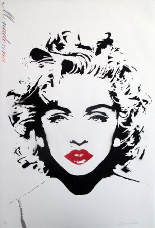 Screenprint Bambi - Madonna