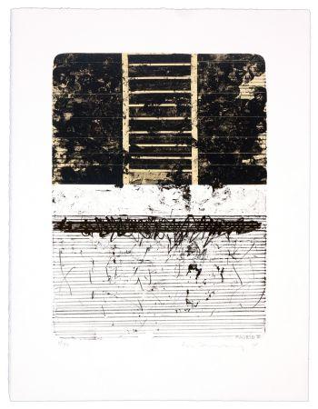 Lithograph Denning - Madrid III