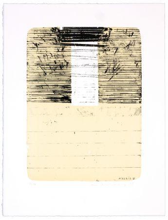 Lithograph Denning - Madrid V