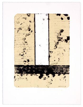 Lithograph Denning - Madrid VII