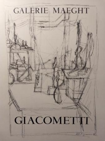 Poster Giacometti - Maeght