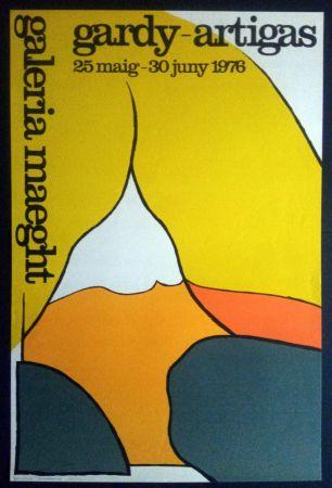 Poster Artigas - Maeght 25 Maig 30 Juny 1976