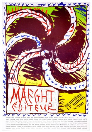 Poster Alechinsky - Maeght Editeur, 1982