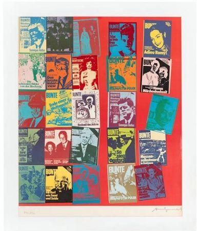 Screenprint Warhol - Magazine and History, FS II.304 A