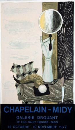 Lithograph Chapelain-Midy - Magie Blanche Galerie Drouant
