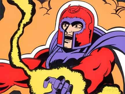 Screenprint Matos - Magneto