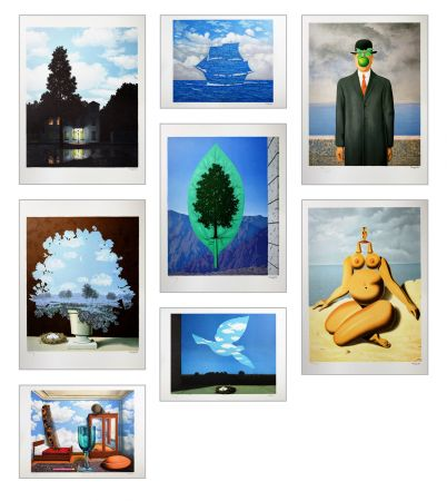 Lithograph Magritte - Magritte Lithographies II