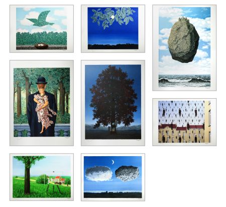 Lithograph Magritte - Magritte Lithographies III