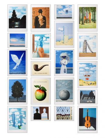 Lithograph Magritte - Magritte Lithographies IV