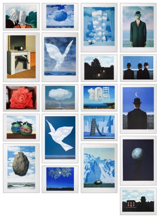Lithograph Magritte - Magritte Lithographies V