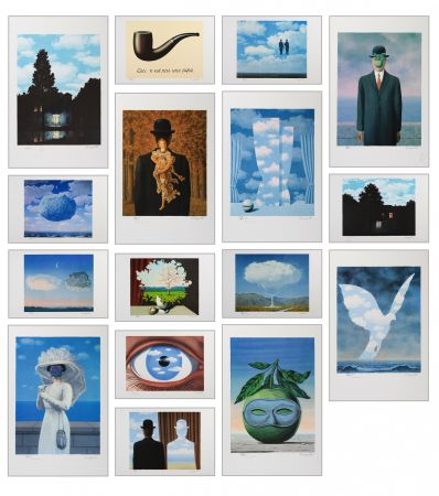 Lithograph Magritte - Magritte Lithographies Vi