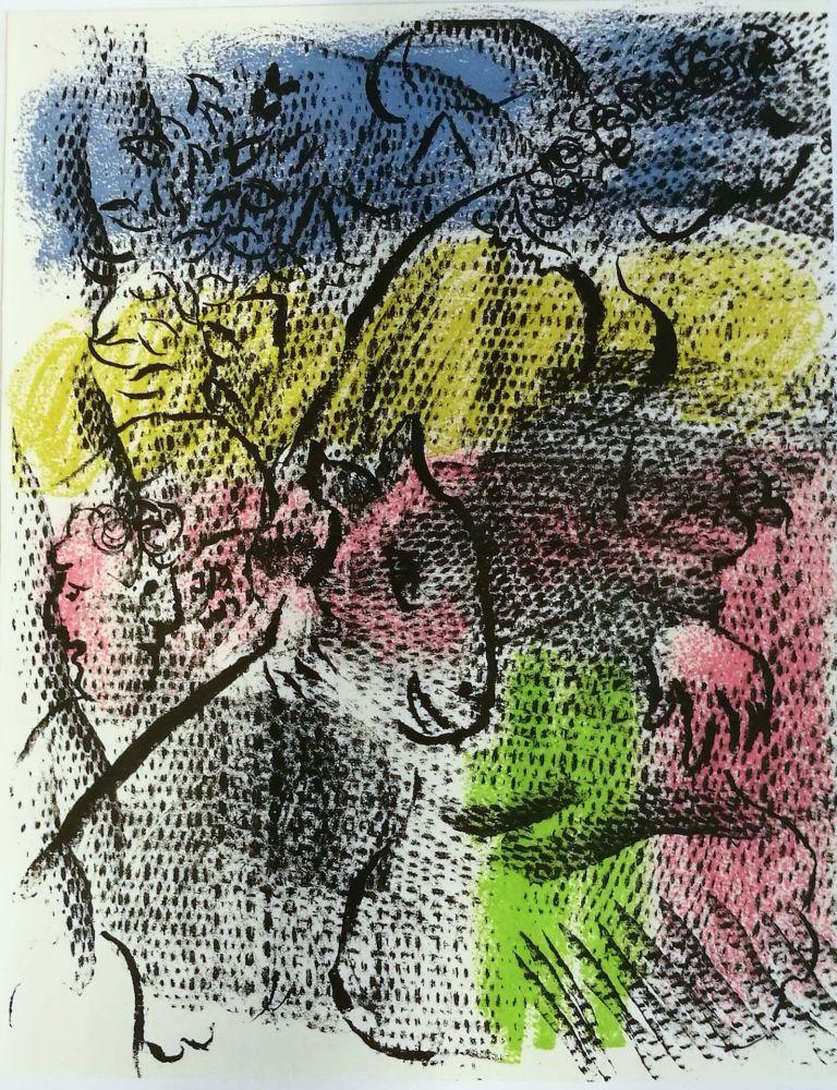 Lithograph Chagall - Mai 1970