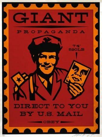 Screenprint Fairey - Mailman
