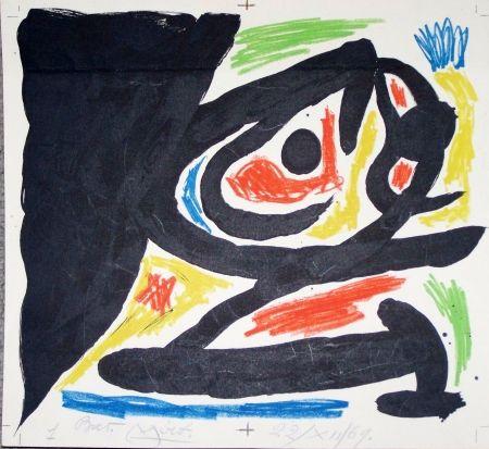 Lithograph Miró - Maitres graveurs contemporain