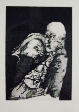 Etching And Aquatint Hernandez - Malestar heredado