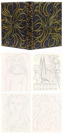Illustrated Book Matisse - MALLARMÉ. POÉSIES. Eaux-fortes originales de Henri Matisse (1932). Reliure de Paul Bonet.