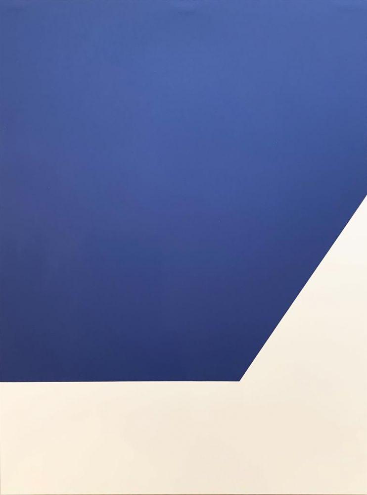 Lithograph Kelly - Mallarmé Suite: Blue