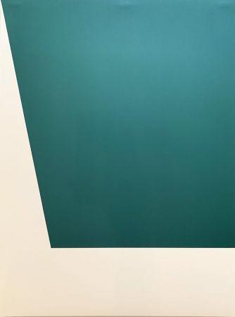 Lithograph Kelly - Mallarmé Suite: Green