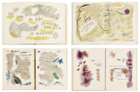 Illustrated Book Masson - Mallarmé : UN COUP DE DÉS JAMAIS N'ABOLIRA LE HASARD. 28 lithographies originales en couleurs (1961)