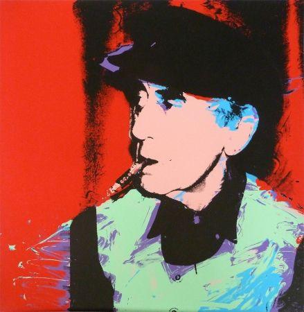 Screenprint Warhol - Man Ray